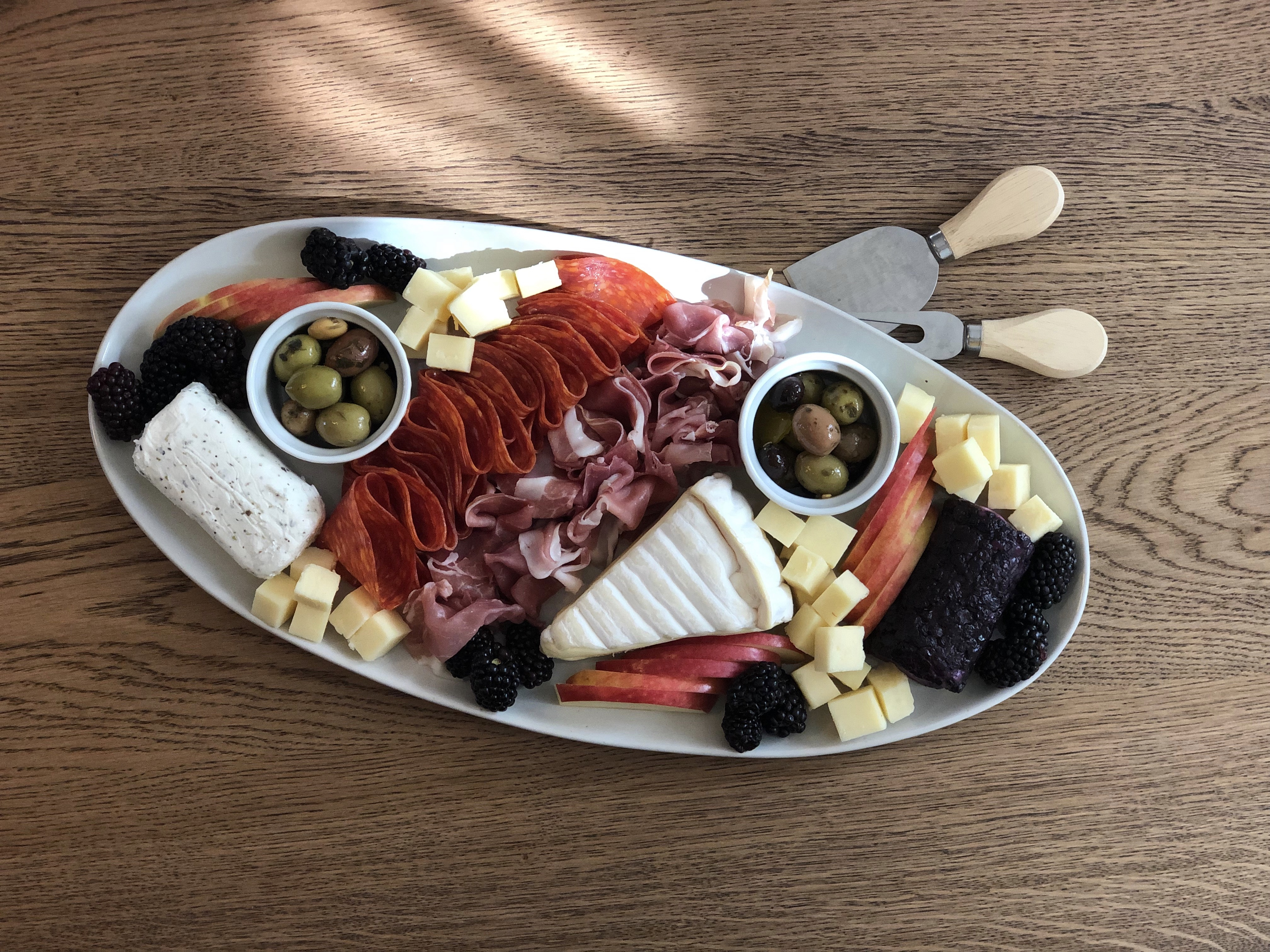 Another fall cheese plate for you