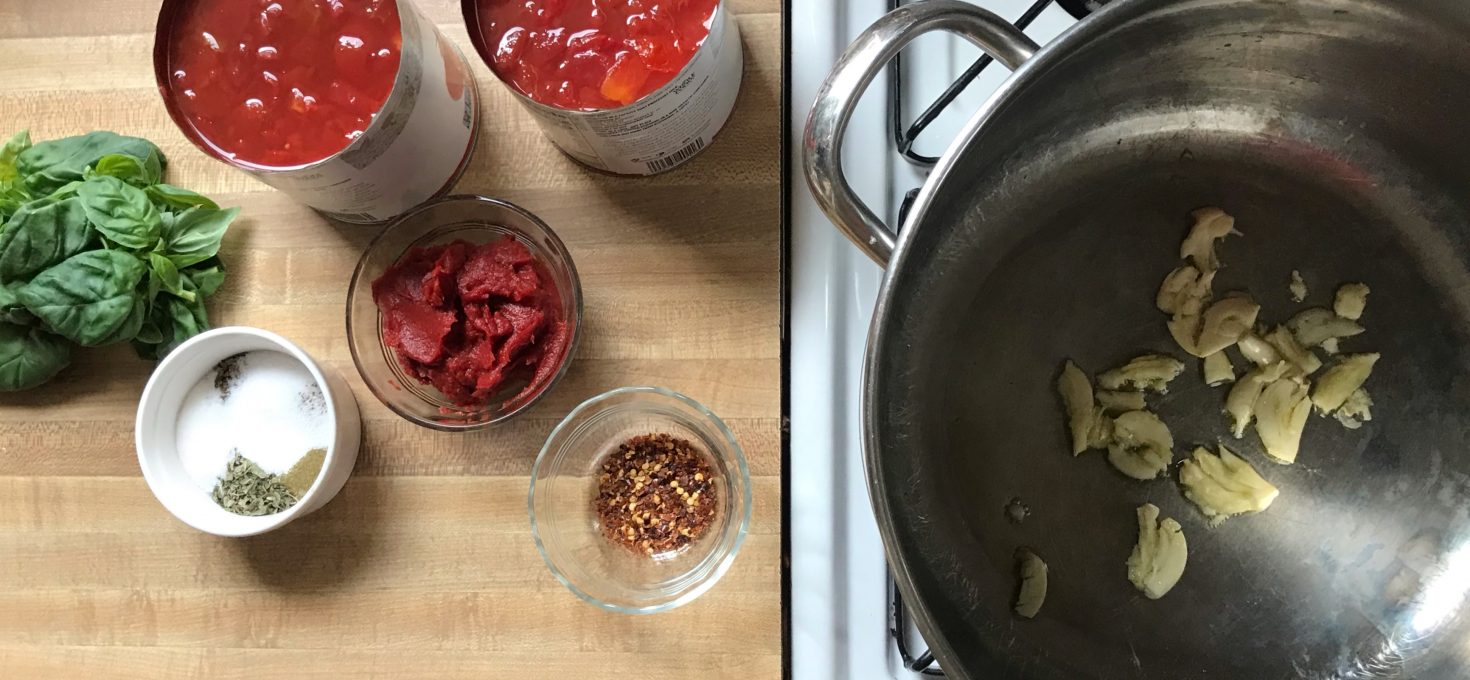 Quick Weeknight Red Sauce